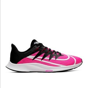 mens pink and black nike shoes